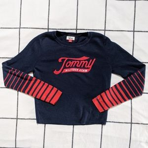 TOMMY HILFIGER STRIPED LONG SLEEVE